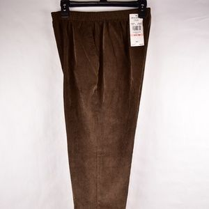 Alfred Dunner Womens Pants Size 10P Elastic